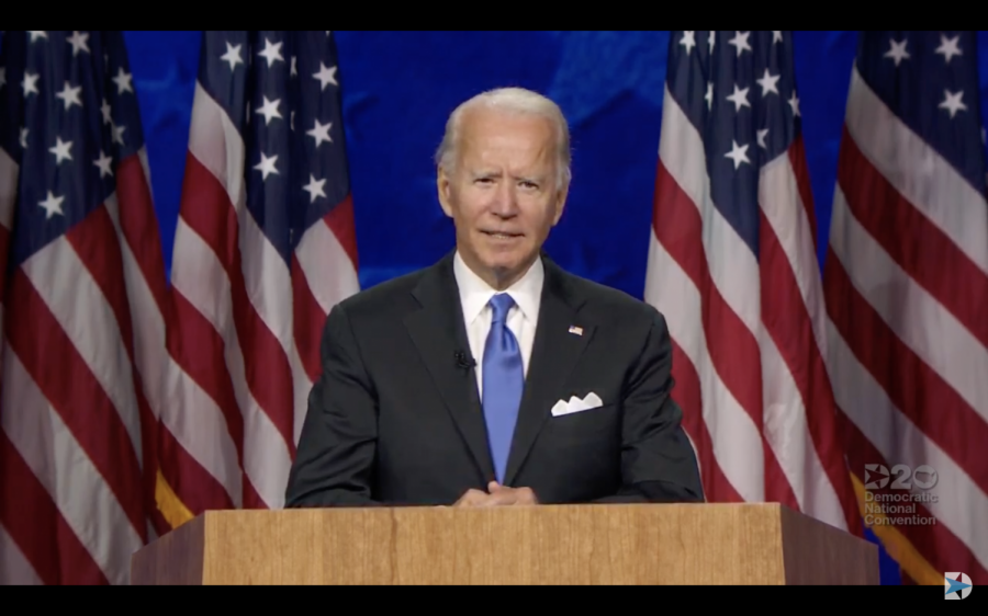 Tying the knot in a process that began in Iowa, Joe Biden accepts Democratic nomination for president