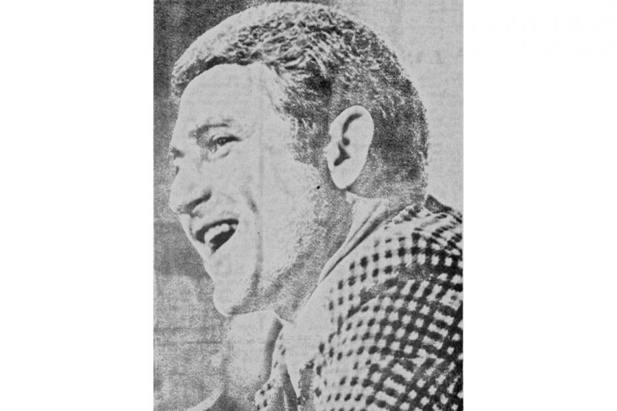 Lute Olson after accepting the position as Iowa's head men's basketball coach in 1974.