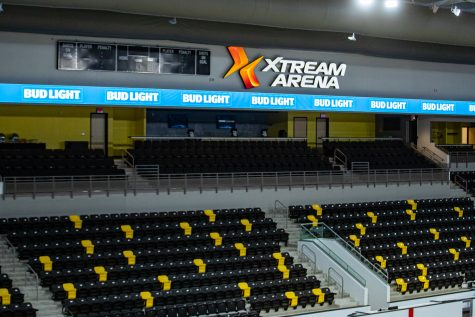 The main floor is seen during Xtream Arena