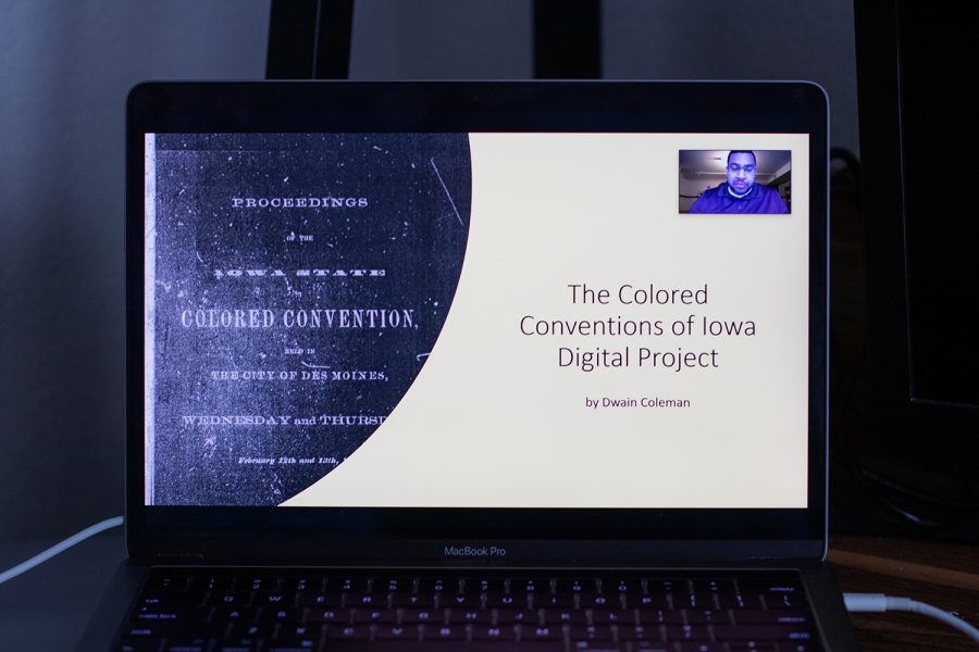 The College of Liberal Arts and Sciences Racial and Social Justice Meeting was held over Zoom on September 23rd. The meeting included a few presentations and covered racial justice programs in Iowa's past and present.