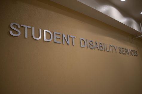 University of Iowa's student Disability Services Office is seen on September 3, 2020.