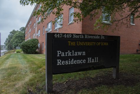 Parklawn Residence Hall is seen on Sept. 8, 2020. Parklawn, which hasn't housed students since 2017, is now reopening for those who need to quarantine due to COVID-19.