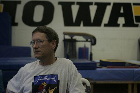 Then-head coach of Iowa Men