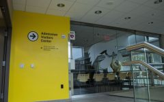 The University of Iowa Admission Visitors Center, which is located in the Pomerantz Career Center, is pictured on Sept. 27, 2020. With no certainty that campus tours will be in person due to COVID-19, the University finds new ways to recruit the class of 2025 including zoom meetings and virtual visits.