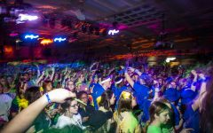 Participants dance during the Power Hour in UI Dance Marathon 26 at the Iowa Memorial Union on Saturday, February 8, 2020. Over 2,500 dancers partook in the event to help raise money for the University of Iowa Stead Family Children's Hospital.