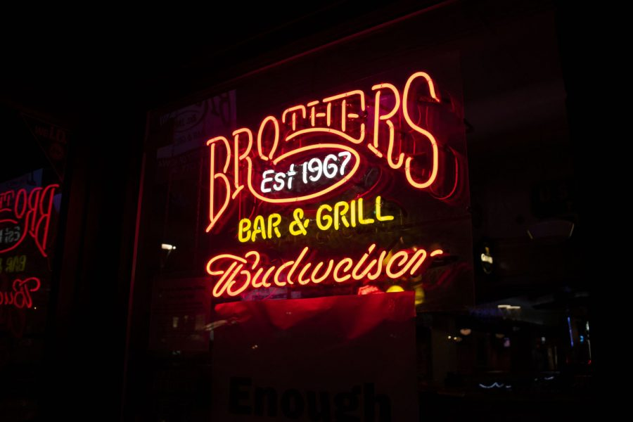 Brothers Bar and Grill is seen on Sunday, September 6 2020.