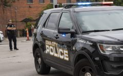 Iowa City Police Department vehicles are seen on July 9, 2019.