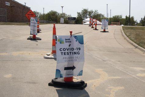 TEST IOWA site 5455 Kirkwood Blvd S.W.  Cedar Rapids.As seen on Wed, August,2020