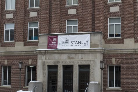 The Stanley Museum of Art sign is seen outside of the IMU on Monday, January 14, 2019. The Stanley Museum of Art is celebrating its 50th anniversary.