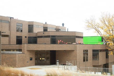 The Lindquist Center is seen on October 12, 2020. The College of Education, Special Education and Psychology faculty were awarded a $1.6 million grant.