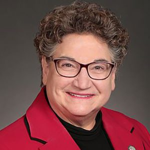 Portrait of Iowa House of Representatives candidate Mary Mascher.