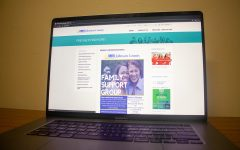 The Johnson County National Alliance on Mental Illness website as seen on Oct. 12.