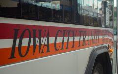 Iowa City Transit bus as seen on Sept. 21.