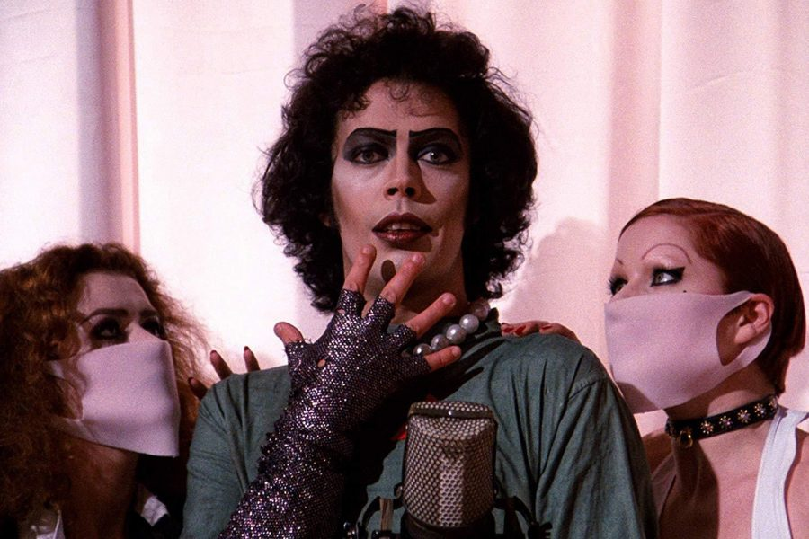 "Tim Curry, Nell Campbell and Patricia Quinn star in ""The Rocky Horror Picture Show"" in 1975. (20TH CENTURY FOX)"