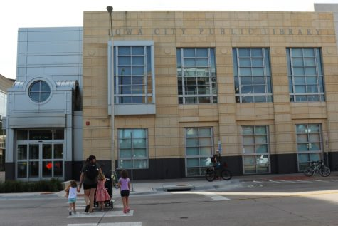 The Iowa City Public Library is seen on Monday, September 16, 2019. The new energy kits available at the library are encouraging efforts towards an energy-efficient home.