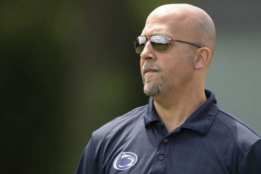 Penn State head coach James Franklin. (Jose F. Moreno/The Philadelphia Inquirer/TNS)