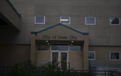 City of Iowa City Town Hall is seen on Tuesday, October 20, 2020.