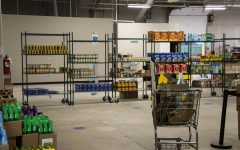 Items in the warehouse as seen on Tuesday Nov.10,2020.  Clients have different choices to pick from at the food pantry.