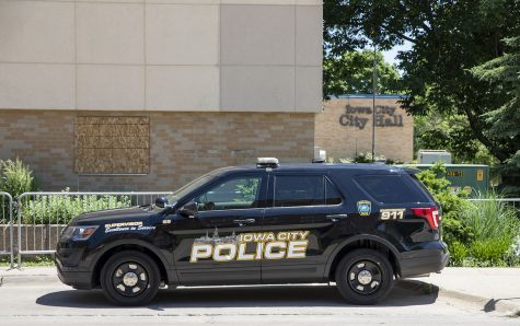 Iowa City Police Dept. 410 E. Washington St. As seen on Monday June 8, 2020.