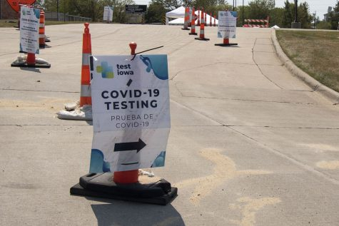 TEST IOWA site 5455 Kirkwood Blvd S.W.  Cedar Rapids.As seen on Wed, August,2020.