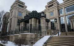 The Tippie College of Business is seen on Monday, January 27th, 2020.