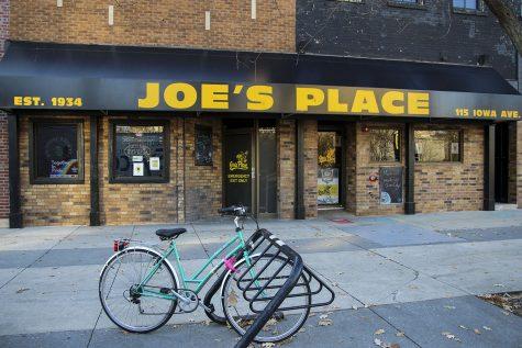 Joe's Place is seen on Wednesday, Nov. 18, 2020. Located at 115 Iowa Ave.