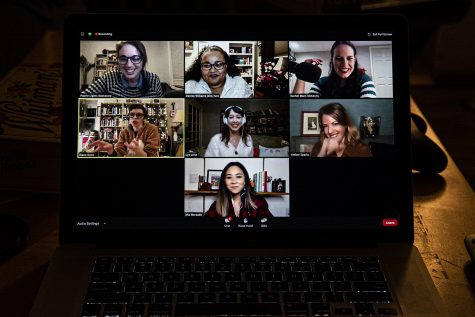 The Prairie Light virtual potluck is held over Zoom on Sunday, December 6, 2020. Prairie Lights is hosting a group of six Midwest authors to talk about the books they published in 2020. (Tate Hildyard/The Daily Iowan)