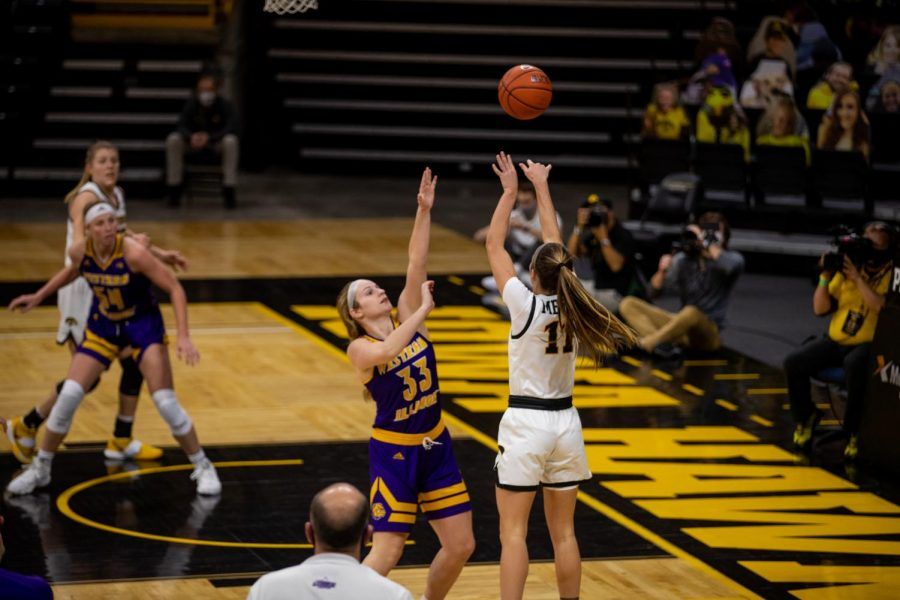 Hawkeye bench provides spark in win over Western Illinois