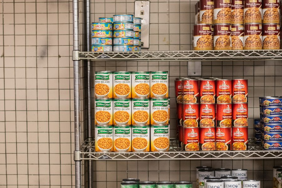 The+Food+Pantry+at+Iowa%2C+located+in+the+Iowa+Memorial+Union%2C+serves+the+Hawkeye+community+one+meal+at+a+time.+Wednesday+was+distribution+day%2C+so+the+pantry+will+restock+before+the+next+distribution.
