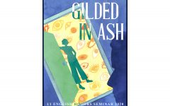 """Cover art for """"Gilded in Ash,"""