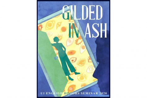 "Cover art for ""Gilded in Ash,"" created by Haley Triem. Contributed."