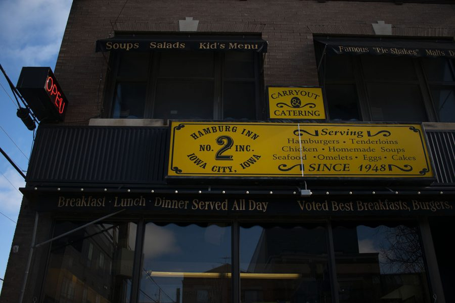 The hamburg Inn No. 2 in Iowa City is seen on Monday, Nov. 30, 2020. (Raquele Decker/The Daily Iowan)