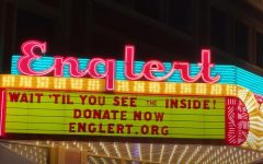 DITV: Englert Theatre's renewed marquee lights up downtown