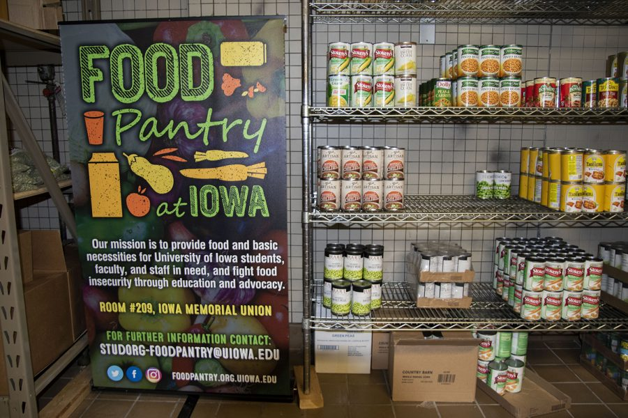 Can+goods+slowly+fill+the+shelf+at+the+U+of+Iowa+food+pantry%2C+on+Friday%2C+Jan+22%2C+2021.+
