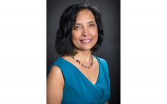 Photo of Journalism professor and Director of the UI Nonfiction Writing Program Meenakshi Gigi Durham. Contributed.