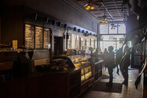 Customers order at The Java House located on East Washington Street on Saturday, Feb. 27.