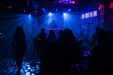 Iowa City locals and University of Iowa students pile into Elray's in downtown Iowa City on Friday, October 9th, 2020. As of this weekend, the government mandated closing of bars has been lifted prompting an upswing of business as locals and students return.