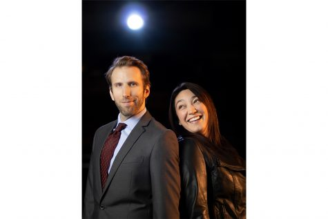 "Photo of Robert Kemp and Jessica Murillo who star in ""First Date: A Musical Comedy."" Contributed."