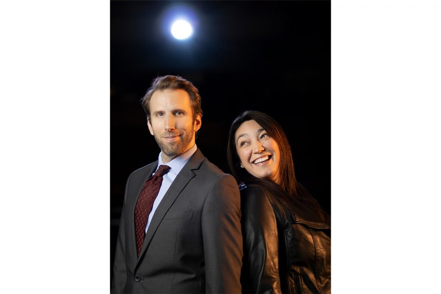 Photo of Robert Kemp and Jessica Murillo who star in