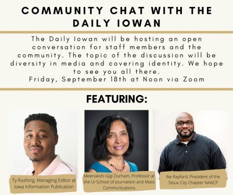 Community Chat: Diversity in the Media and Covering Identity
