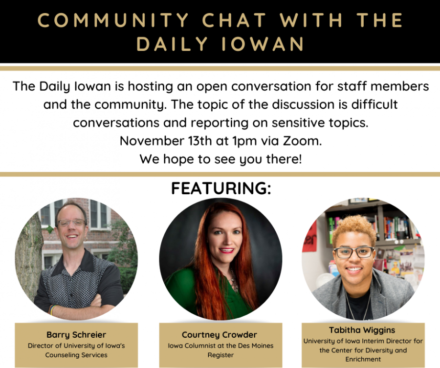 Community Chat: Difficult Conversations and Reporting on Sensitive Topics