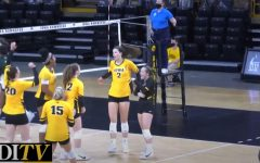 DITV: Iowa volleyball faces off against Michigan State