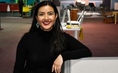 Marlen Mendoza, the founder of Colectivo de Mujeres en Negocios, the Collective of Women in Business, poses for a portrait at Open Heartland on Thursday, March 11, 2021.