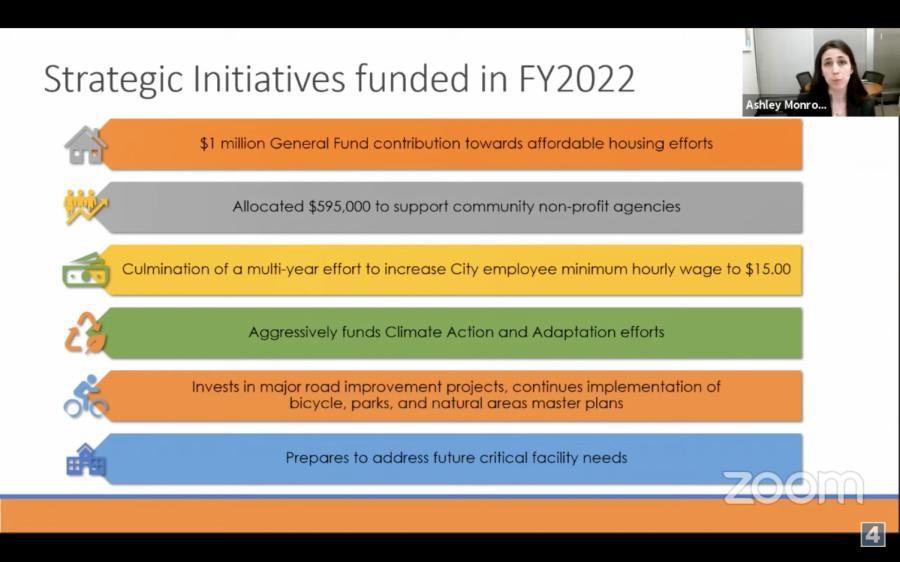 Iowa City City Council adopts 2022 budget