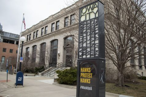 The Center Senior Center, located in downtown Iowa City, is pictured on March 11, 2021. (Grace Smith/The Daily Iowan)