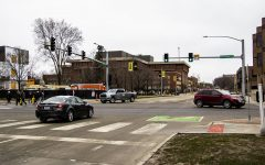 Intersection of E. Burlington St. and S. Madison St. on Tuesday, March 16, 2021.