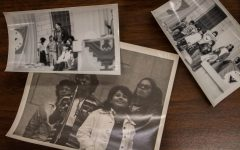 Items from the University of Iowas Special Collections and University Archives are seen as part of a collection honoring the 50th anniversary of the Latino Native American Cultural Center.