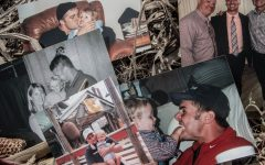 Photos throughout Max Bolander's life with Ben Price are seen. Ben Price took his life after a positive COVID-19 diagnosis due to paranoia post-Covid, a phenomenon known as COVID-19 Psychosis. Price is survived by his wife Jennifer and his children, Jett, 17, and Maya, 14.