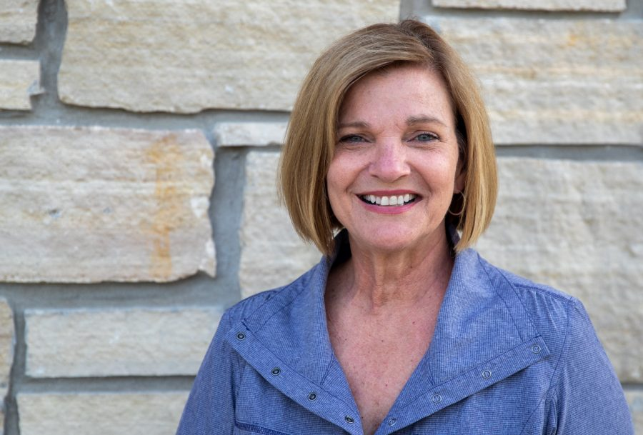 Iowa State Sen. Liz Mathis poses for a portrait on Friday, July 2, 2021.  (Jerod Ringwald/The Daily Iowan)