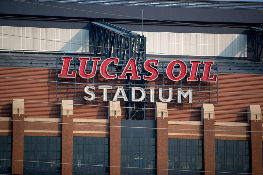 Lucas+Oil+Stadium+is+seen+in+Indianapolis%2C+Indiana%2C+on+Thursday%2C+July+22%2C+2021.++%28Jerod+Ringwald%2FThe+Daily+Iowan%29